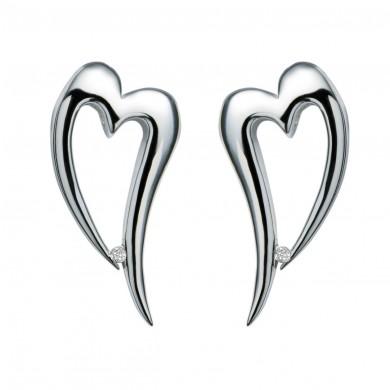 Remember Me Silver Earrings
