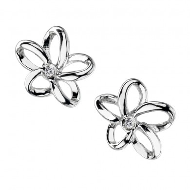 Paradise Open Petal Stud Earrings