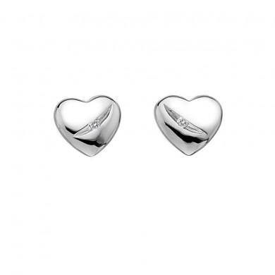 Shooting Stars Heart Earrings