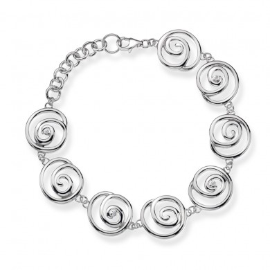 Eternity Spiral Bracelet