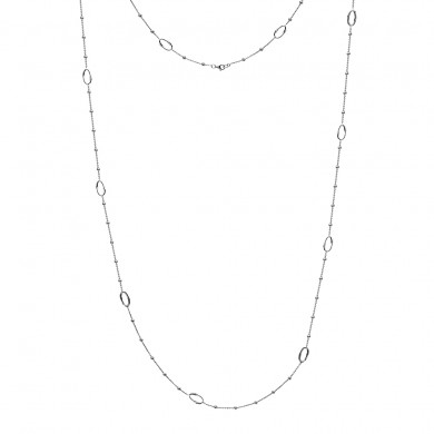 "Orbit Long Length Necklace - 40"""