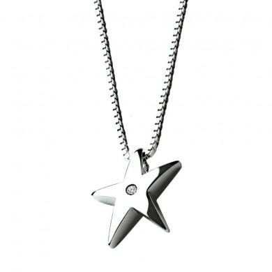 Stargazer Silver Pendant
