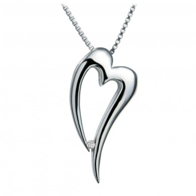 Lingering Silver Pendant