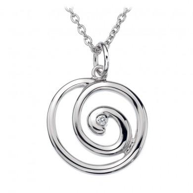 Eternity Spiral Pendant
