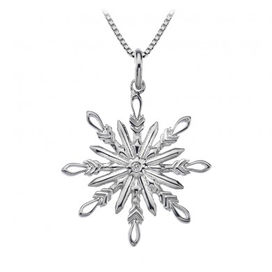 Winter Wonderland Snowflake Pendant
