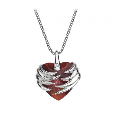 Angel Heart Magma Pendant made with SWAROVSKI ELEMENTS