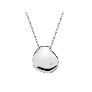 Lunar Pebble Pendant