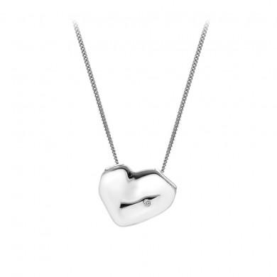Lunar Heart Pendant