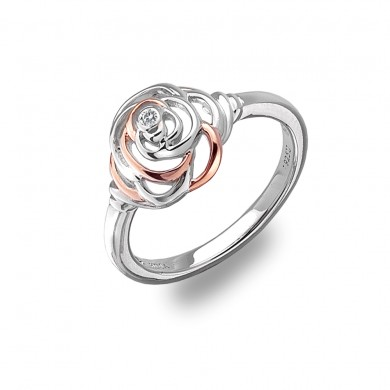 Eternal Rose Ring - Rose Gold Plated Accents