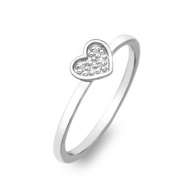 Stargazer Heart Ring