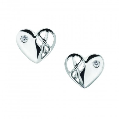 Eclipse Heart Earrings