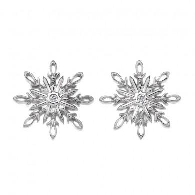 Winter Wonderland Snowflake Earrings