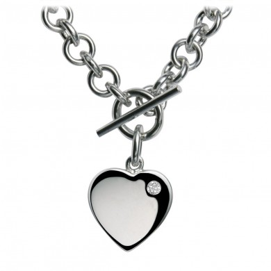 Lovelocked Silver Necklace