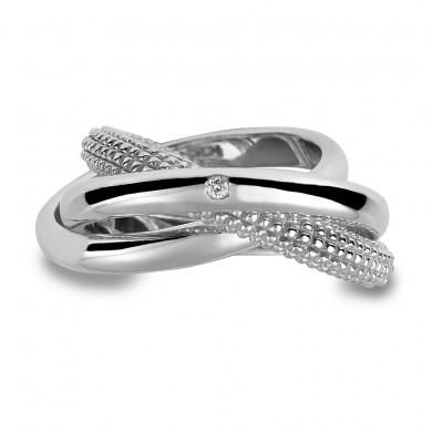 Ula Silver Trilogy Ring