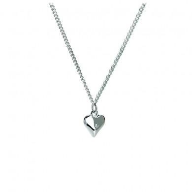 Love Token Silver Charm Pendant