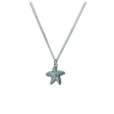 Starlet The Starfish Silver Charm Pendant