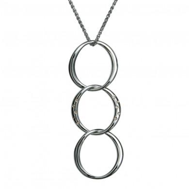 Watermark Silver Pendant