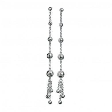 Waterfall Silver Earrings