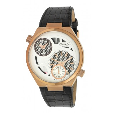 Gents Kenneth Cole See Through Dial Watch