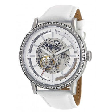 Ladies Kenneth Cole Skeleton Watch