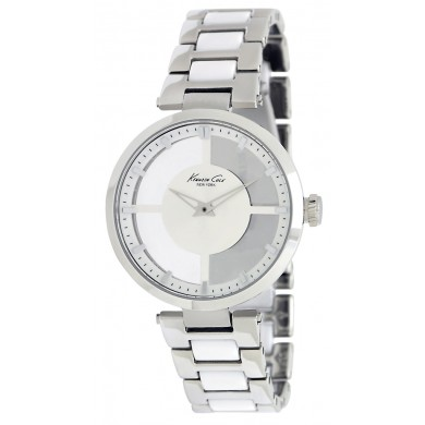Ladies Kenneth Cole See-Through Dial Watch
