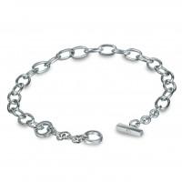 Classic Silver Charm Bracelet