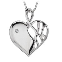 Eclipse Heart Pendant